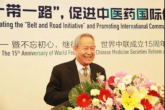 世界中联创会副主席兼秘书长李振吉发言